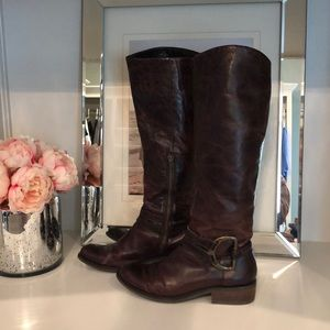 Jessica Simpson Botta Knee high leather  boots